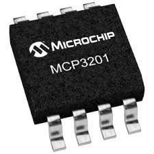 MCP 3201 Mcp3201 Adc 12bits Spi Conversor Analogico Digital