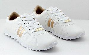 Tenis Tratorado Moleca Branco 5632100