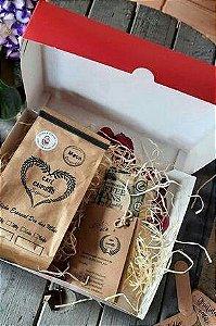 Kit Presente Dia das Mães - Café Especial Moca 250g + Kit Pano de Cera