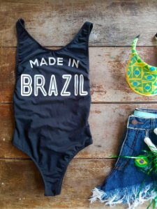 Body Made in Brazil Preto