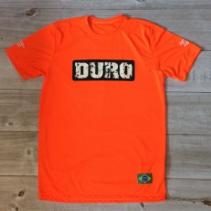 Camiseta Dry manga curta laranja fluo