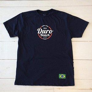 Camiseta algodão Duro Beach preto