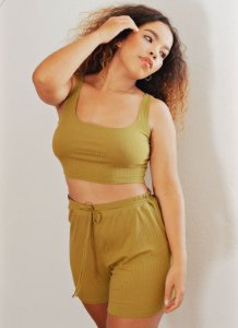 Shorts Sophie - Oliva