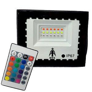REFLETOR RGB COM MEMÓRIA 20W IP67