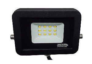 REFLETOR LED PREMIUM 10W SMD 6500K BIVOLT IP65