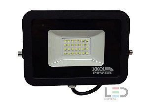 REFLETOR LED PREMIUM 30W SMD 6500K BIVOLT IP65