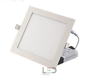 PAINEL LED ECO QUADRADO EMBUTIR 18W 17x17 6500K BIVOLT