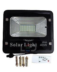 REFLETOR SOLAR 40W 6500K  IP66