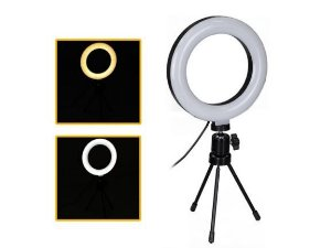 LUMINARIA RING LIGHT MESA 6""