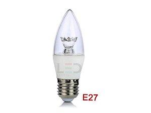 LAMPADA VELA 5W E27 3000K BIVOLT