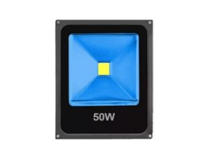 REFLETOR LED 50W COB AZUL IP66