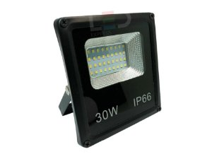 REFLETOR LED LIGHT SMD 30W 6500K BIVOLT IP66