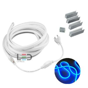 LED NEON FLEX 3 MTS AZUL 127V