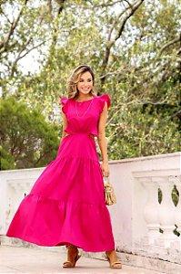 Vestido Pink tamanho único