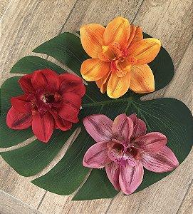 Pente de orquídeas selvagens