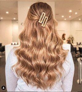 Presilhas de cabelo retangular