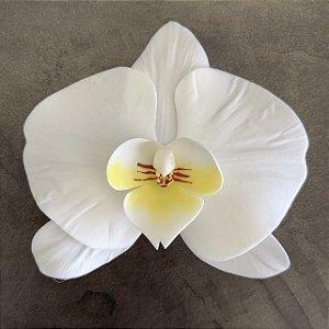 Presilha de orquídea em porcelana
