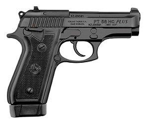 Pistola Taurus Modelo PT 58 HC PLUS 19 Tiros .380 Oxidada Fosco