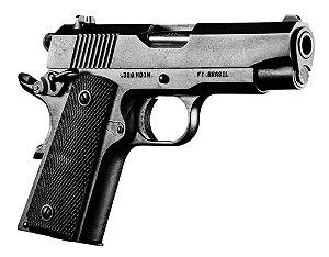 Pistola Imbel Modelo MD1N .380 9 Tiros com ACD Oxidada Fosco
