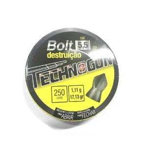 Chumbinho Technogun Bolt 5.5mm 250un