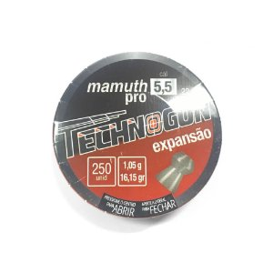 Chumbinho Technogun Mamuth PRO 5.5mm 250un