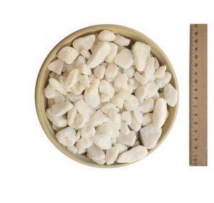 Seixo Branco Nº 0 - 15 kg
