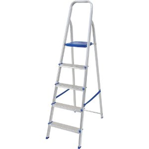 Escada 5 Degraus - Alumínio