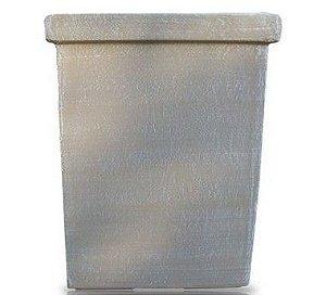 Vaso Quadrado com Borda Médio - 50 cm