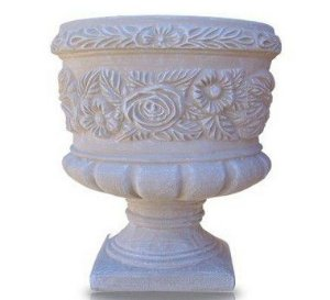 Vaso Taça Flor Grande - 63 cm