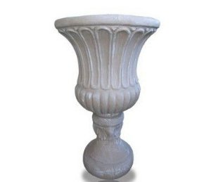 Vaso Taça Frisada Extra Grande - 75 cm