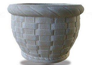 Vaso Cesto Trançado Médio - 35 cm