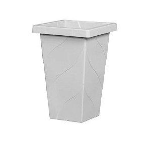 Vaso Coluna Quadrado Médio - 26 cm