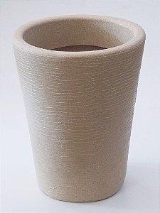 Vaso Cone Grafiato Pequeno - 39 cm