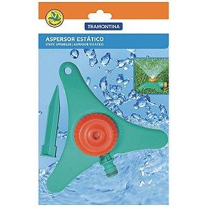 Aspersor Estático para Engate Rápido Tramontina com Base de Apoio e Pontalete
