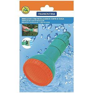 Irrigador para Engate Rápido Tramontina com Regulagem e Corte D'Água Jato tipo Chuveirinho