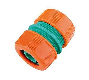 """Ligação Reparadora Tramontina em Plástico para Mangueira 5/8"""" e 3/4"""""""