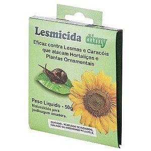 Lesmicida Dimy Orgânico - 50 gramas