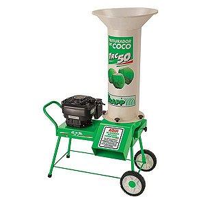 Triturador de Coco a Gasolina TRC-50 6 Hp Trapp