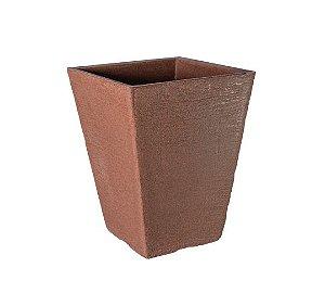 Vaso Coluna Quadrado Pequeno - 35 cm