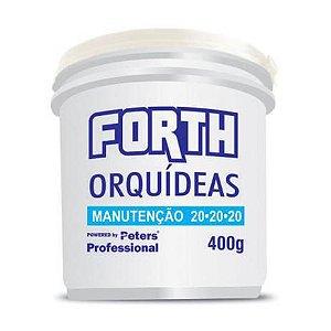 Fertilizante Forth Orquídeas Manutenção 20.20.20 - 400 g