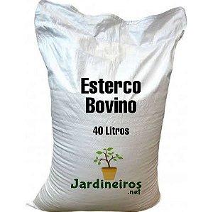 Esterco Bovino - 40 litros