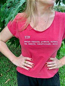 T-shirt YIN + Claudia Lebie