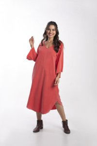 Vestido Capadócia Vermelho stone