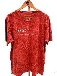 T-shirt Fé - gola V