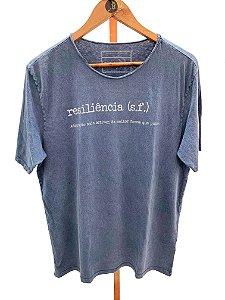T- shirt Resiliência gola à fio