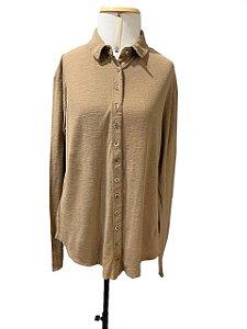 Camisa Feminina Ocre