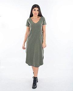 Vestido Santiago verde stone