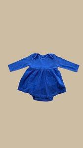 Vestido mini amor azul
