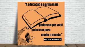 Azulejo Nelson Mandela