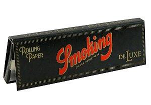 Seda Smoking Deluxe extra fina, 1 1/4 livreto com 50 folhas.